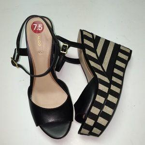 Wedge sandals. NWT